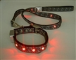 Flashing LED collar del perro