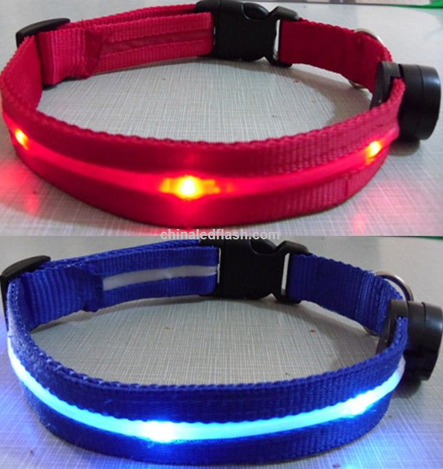 LED Collar luminoso de seguridad para perros
