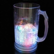 Flashing Beer Mug with Bottom Switch, Three LED Lights and 800mL Capacity