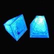 Flashing Ice Cube with Vivid Ice-shaped, Water-resistant, Reusable and Freezable Features