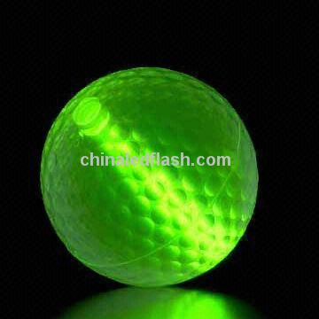 Rainbow LED Flashing Golf Ball with Easy-to-find